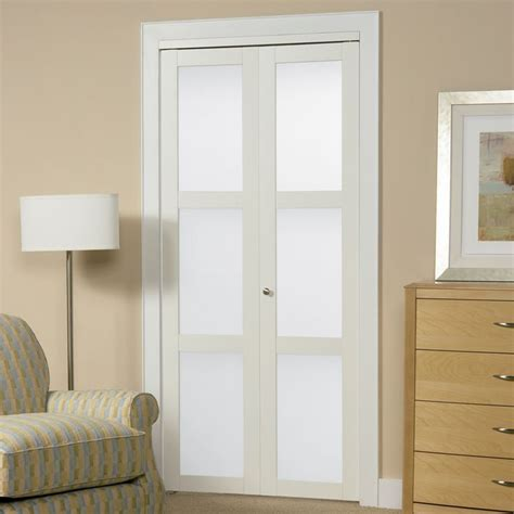 shop reliabilt white  lite solid core tempered frosted