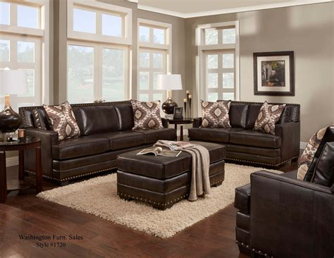 Living Room Sofas And Loveseats by Poncho Saddle Sofa And Loveseat Leather Living Room Sets