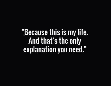 life     explanation