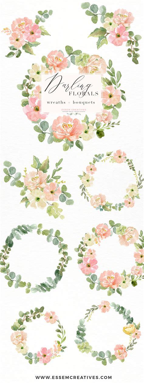 watercolor wreath png clipart watercolor flowers bouquet background floral wreath png essem