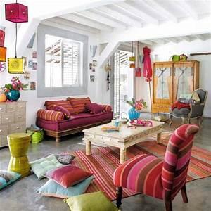 banquette indienne 2 3 places en coton multicolore With exceptional meuble bas maison du monde 5 decoration indienne de chez maisons du monde