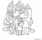 Bluey Coloring Animationsa2z Printable Bingo Drawings Children Templates Painting sketch template