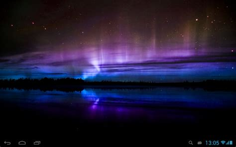 Hd Wallpaper Northern Lights Northern Lights Live Wallpaper Android Apps On Google Play