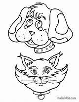 Hound Coloring Pages Basset Bassett Hellokids Dog Printable Stencil sketch template