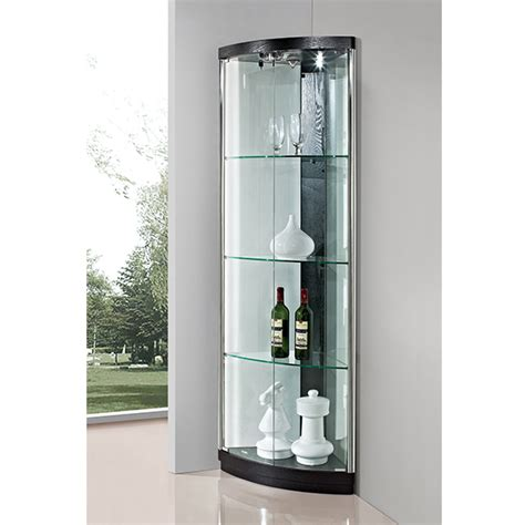 glass cabinet with lights glass curio cabinet led light modern led cabinet buy led