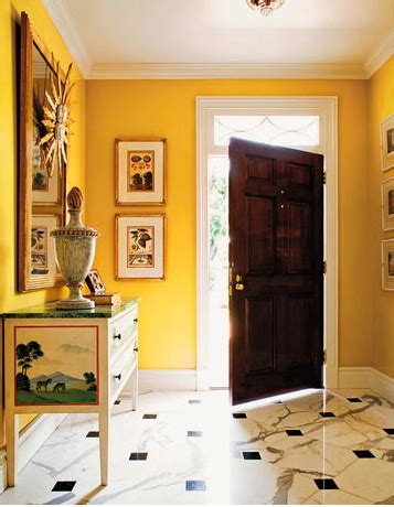 entrance  showtime  benjamin moore interiors  color