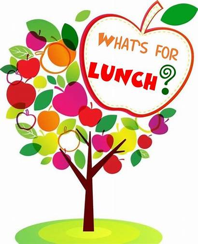 Lunch Clipart Borders Cafeteria Apple Tree Menus