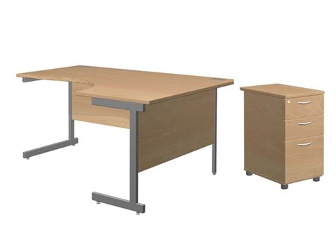 Solar Desk by Solar Desk Pedestal Bundle Rh Tables