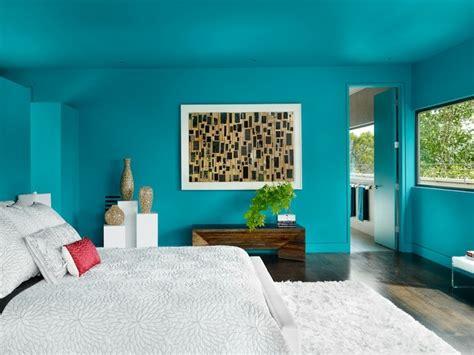 wandgestaltung mit farbe  nuancen von blau