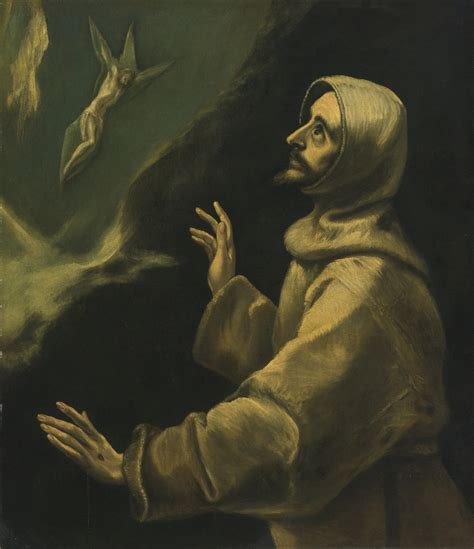 st francis of assisi birth date file school of el greco francis of assisi receiving the stigmata jpg wikimedia commons