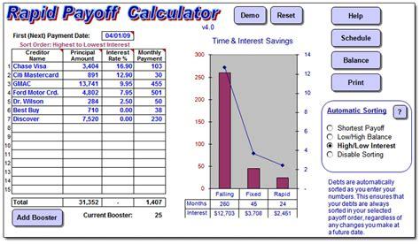 debt planner spreadsheet excel spreadsheets group
