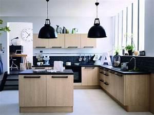 15 cuisines bois au top de la tendance 2013 With couleur mur salon tendance 14 cuisine bois et noir cuisines en bois cuisines et modles