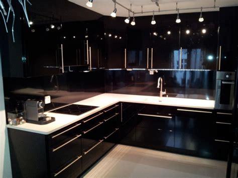 cuisine noir ikea geilo interiør og design kjøkken