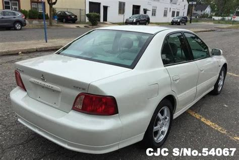 Galant 2002 For Sale by 2002 Left Mitsubishi Galant White For Sale Stock No