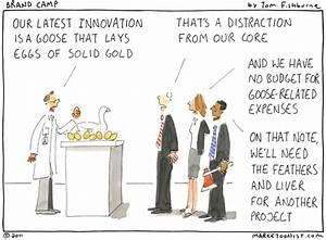 innovation that lays the golden eggs Marketoonist Tom Fishburne