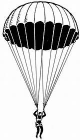Parachute Picstopin sketch template