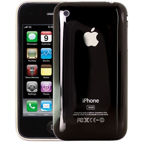 iphone 16gb iphone 3gs 16gb front back schwarz black flickr
