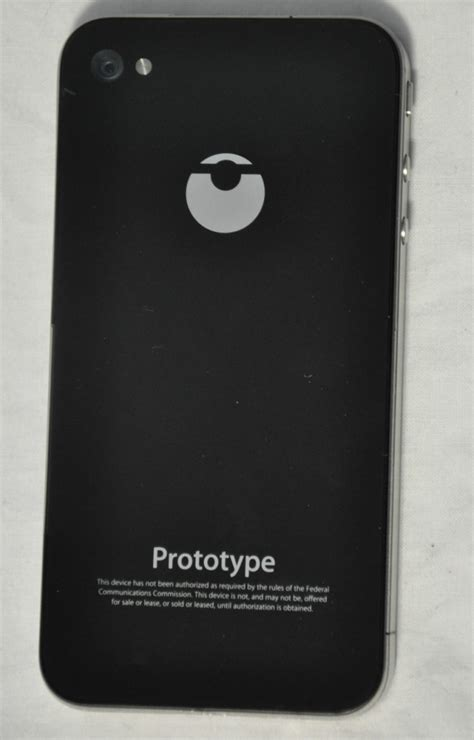 iphone prototype iphone 4 prototype for sale on ebay for 10 000