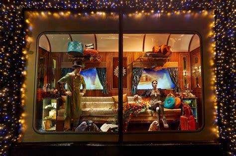 jump aboard the 2013 harrods christmas express windows