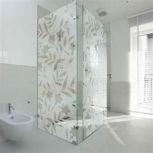 Paroi Vitrée Douche : d corez paroi de douche et cabine vitr e avec ce sticker ~ Zukunftsfamilie.com Idées de Décoration
