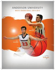 Men's Basketball 2014-15 Media Guide by Anderson ...