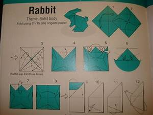 Origami Bunny  D Yay   U00b7 How To Fold An Origami Rabbit  U00b7 Origami On Cut Out   Keep