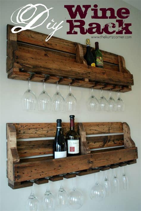 rustic wine rack the kurtz corner diy rustic wine rack