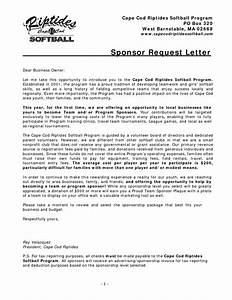 best photos of sample sponsorship request letters event With softball fundraiser letter