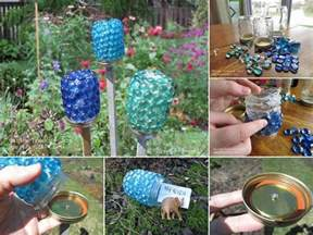 diy lawn ornaments lawn up cycle oh so pretty pinterest gardens lighting and led