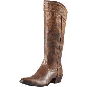 womens cowboy boots sale pungo ridge ariat boot sassy brown ariat 10011941