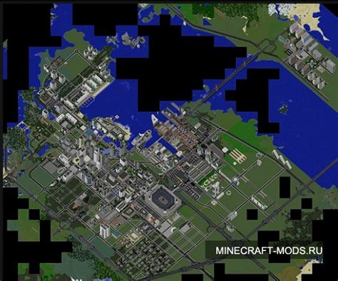 modern city map minecraft mattupolis large modern city карты для майнкрафтаа