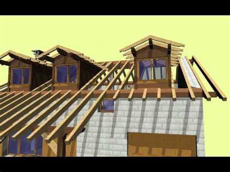 carpinteria zulaika cubierta  porche  mansardas youtube