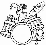 Drum Drums Pages Drummer Coloring Rock Roll Printable Colouring Play Print Cartoon Music Sheets Game Coloringonly Muziek Categories Games Popular sketch template