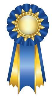 Award Ribbons Clipart award ribbon clipart black and white free image