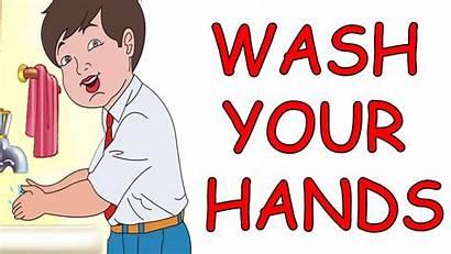 Wash Hands Animated Nursery Rhyme