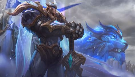 Darius Animated Wallpaper - league of legends god king garen login screen animated