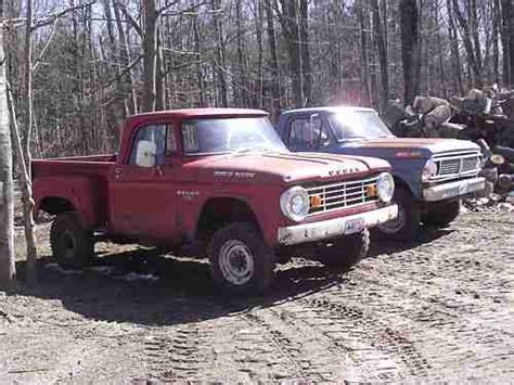1967 Dodge Power Wagon by Purchase Used 1967 Dodge W100 Power Wagon In