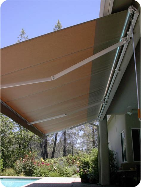 custom retractable awnings  shade covers