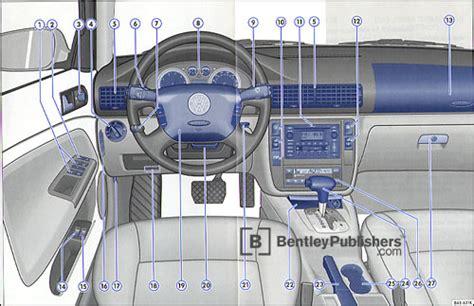 car manuals free online 2003 audi s6 instrument cluster excerpt vw volkswagen owner s manual passat w8 wagon 2005 bentley publishers repair