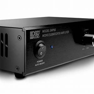 Compact 100w Subwoofer Amplifier Osd