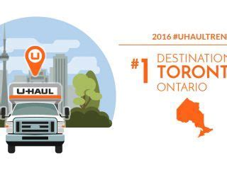 U Haul 2016 Canadian Destination City No. 2: Calgary   My