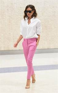 25+ best ideas about Pink pants outfit on Pinterest | Colored denim Colored jeans outfits and ...