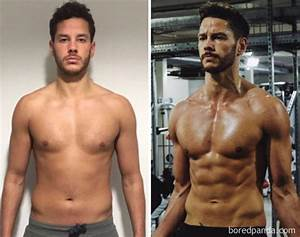 10  Unbelievable Before  U0026 After Fitness Transformations Show How Long It Took People To Get In Shape
