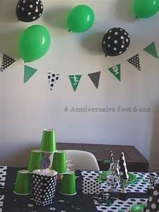 Theme Anniversaire Fille : organiser un anniversaire theme foot pour les 6 ans de ~ Melissatoandfro.com Idées de Décoration