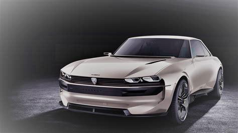 5k Image Of Peugeot Elegend Concept Car