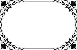 bingkai clipart gratis domain publik vektor
