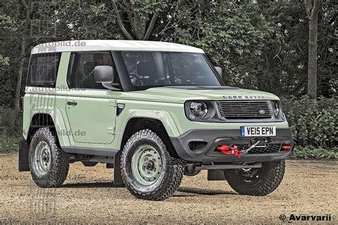 2018 Land Rover Defender Look Images  Best Car Release News