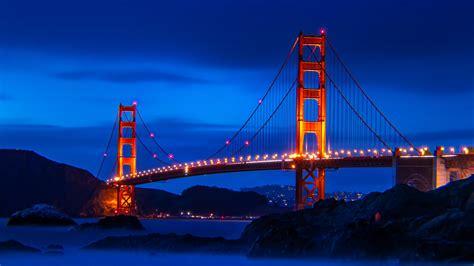 Golden Gate Bridge, bridge, landscape, San Francisco, USA ...