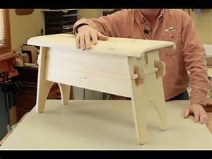 Fabriquer Un Banc D Interieur : fabriquer un banc rustique trucs d 39 atelier avec denis fortin youtube ~ Melissatoandfro.com Idées de Décoration