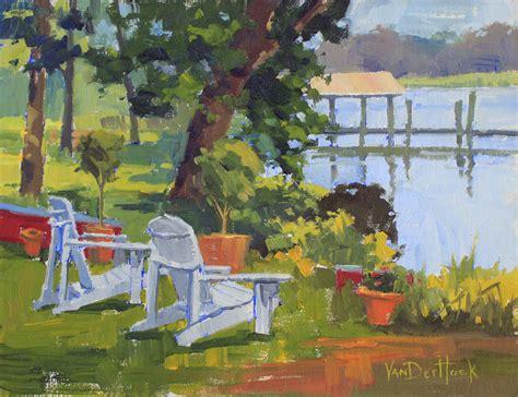 vanderhoek a seat original painting of